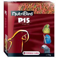 versele-laga nutribird p15 tropical comida para loros - 4 kg