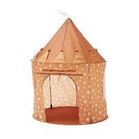 kids concept  tienda de campana star marron oxidado