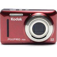 kodak pixpro fz53 camara compacta 16 mp 123 pulgadas pulgadas cmos 4608 x 3456 pixeles rojo