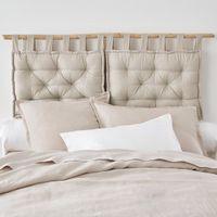 cojin cabecero de cama acolchado 100 algodon scenario