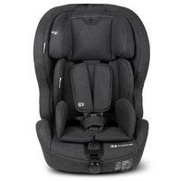 kinderkraft silla de coche safety-fix con isofix negro