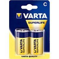 varta superlife c bateria de un solo uso zinc-carbono