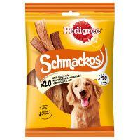 pedigree schmackos snacks para perros - multi 14 x 20 uds - pack ahorro
