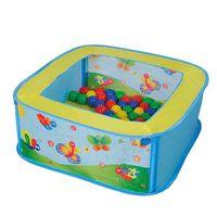 knorr toys piscina de bolas ballix incl 25 bolas - de colores