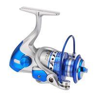 rueda de pesca giratoria bobina de pesca full metal