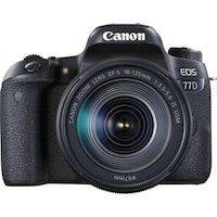 canon eos 77d  ef-s 18-135mm 35-56 is usm juego de camara slr 242 mp cmos 6000 x 4000 pixeles negro