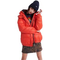 superdry astrid puffer xs apple red