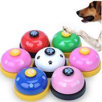 petpressjingleperrogatoentrenador pet intelligence huellas de juguete press bells perro paw prints ringer
