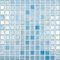 gresite shell azul para suelo y pared de 25xcm