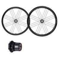 campagnolo shamal c21 2-way fit disc carbon pair 12 x 100  12 x 142 mm black