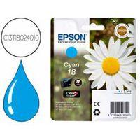 cartucho epson c13t18024010 color cian  epson 18