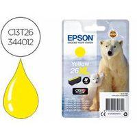 cartucho epson 26xl color amarillo c13t26344012
