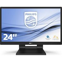 philips monitor lcd con smoothtouch 242b9t00