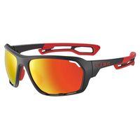 cebe gafas de sol upshift espejo grey zone red flash mirrorcat3 matt black  red