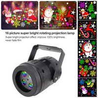 christmas projector 16 patterns undefined led projector light new year decorations projection lamp stage light for party ktv bar