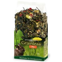 jr grainless mix para conejos enanos - 2 x 17 kg - pack ahorro