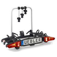 uebler portabicicletas i31 para 3 bicicletas 3 bikes black  silver