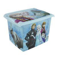 keeeper  caja decorativa con tapa azul congelado - azul