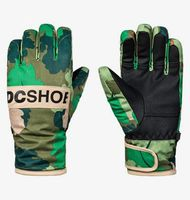 franchise - guantes para esquisnowboard para chicos 8-16 - verde - dc shoes