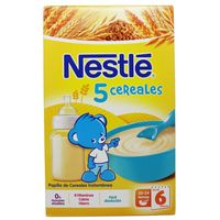 nestle cereales papilla 5 cereales 600g