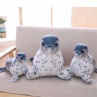 1 unid 30405060 cm soft sea world animal lion peluche relleno juguete de bebe almohada para dormir para ninos regalos