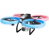 eachine e020 led wifi fpv con 4k  1080p hd gran angular camara modo de retencion de altitud rc drone cuadricoptero rtf