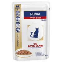 royal canin renal veterinary diet - pollo 12 x 85 g
