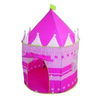 roba jugar a la carpa castillo rosa