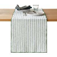 camino de mesa de linoalgodon lavado lacanau