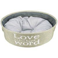 trixie cama para perros lando verde 55 cm 38402