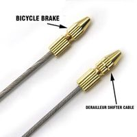 cycling bike brake cable tips crimps bicycles derailleur shift cable end caps core inner wire ferrules
