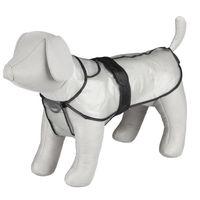trixie impermeable para perros tarbes pvc transparente s 42 cm