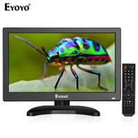 eyoyo 12 inch 1920x1080 ips lcd screen display hdmi tv monitor portable kitchen tv with hdmivgaavusb input  remote control