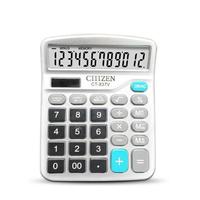 gtttzen finance calculator 12 digitos solar y coin bateria papeleria de oficina power desktop deli