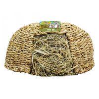 jr farm iglu de hierba - 2 x 470 g grande 30 x 30 x 25 cm - pack ahorro