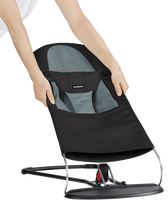 babybjorn asiento de tela adicional para hamaca balance soft negrogris oscuro