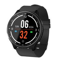bakeeyp6913ipstiempomusica hr presion arterial oxigeno monitor ip68 impermeable reloj inteligente