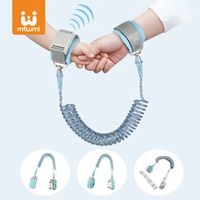 360 toddler children safety harness leash for baby anti lost adjustable wrist link traction rope baby walker wristband kid strap