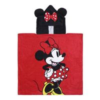 minnie mouse - poncho 100 algodon