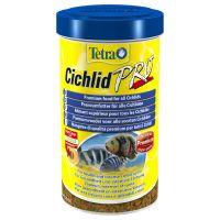 tetra cichlid pro crisps comida en copos para peces -2 x 500 ml - pack ahorro
