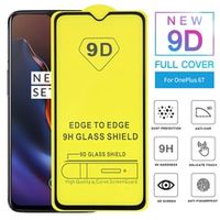 all glue screen protector 9d coverage protective glass for oneplus 3 5 6 7 tempered glass for 3t 5t 6t full coverage