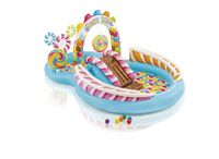 intex candy zone piscina infantil zona multijuegos