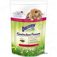 comida bunny kaninchen traum young para conejos jovenes - 2 x 15 kg - pack ahorro