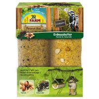 barra de nueces y sauco jr garden peanut bar  - 6 unidades de 350 g - pack ahorro