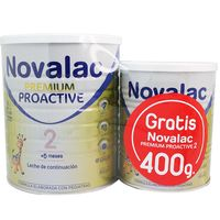 novalac 2 premium proactive 800 regalo lata 400 g