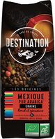 destination cafe en grano mexico 100 arabica bio 250 gr