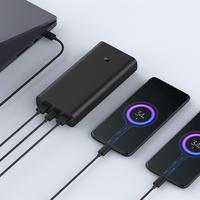 original xiaomi powerbank 3 20000mah 50w super fast flash banco de energia de carga para iphone 11 pro xr laptop xiaomi