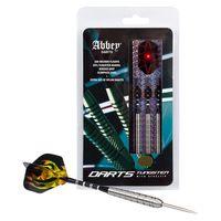 abbey darts set de dardos 3 unidades 85 tungsteno plateado 26 g