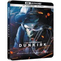 dunkerque 4k uhd incluye blu-ray - steelbook edicion limitada exclusivo de zavvi