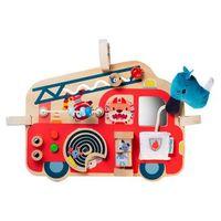 lilliputiens activity -panel - carro de bomberos